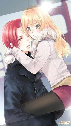 K lindo !!!  Pero como se llama el anime
