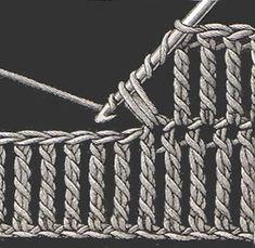 Heirloom Crochet - Vintage Crochet Stitches - DMC ༺✿ƬⱤღ https://www.pinterest.com/teretegui/✿༻