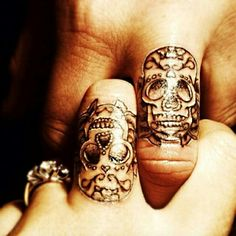 i NEED another finger tattoo