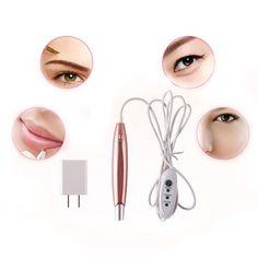 a63ee5e07bdb4 Tattoo Machine Pen Permanent Makeup Cosmetics For Eyebrows Eyeliner Lip Tool  Kit... -