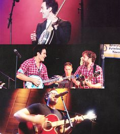 """Lots of people talk about setting up a band or doing an album, then never get round to doing it. Ramin said to me, """"We're not going to just talk about it, we're going to do it."""" -Hadley Fraser"""
