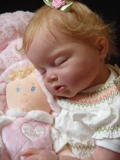 SUSAN Reborn by Ruth Aguilar, Le Ruban Rose Nursery Ariella kit, sculpted by Reva Schick Reborn Toddler Dolls, Child Doll, Reborn Dolls, Reborn Babies, Girl Dolls, Dolly Doll, Realistic Baby Dolls, Preemie Babies, Lifelike Dolls