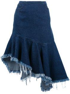 Blue Pleated Skirt, Blue Denim Skirt, Denim Ideas, Denim Trends, Classy Outfits, Sexy Outfits, Fashion Outfits, Denim Fashion, Boho Fashion