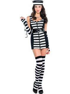 Robber: Female Guilty As Charged Adult Costume