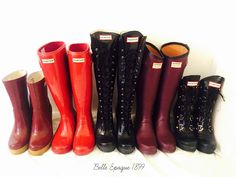 Hunter Boots - an obsession