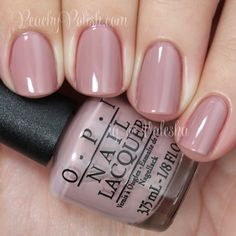 OPI Tickle My France-y - pink taupe nail polish / lacquer #pinknail