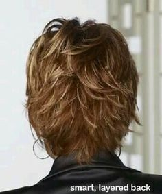 Short Hairstyle with Heavy Texture Back...SINCE THERE IS NO CHOICE ...
