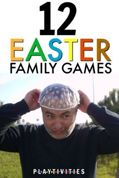 12 Hilarious Easter Games For Family Gatherings. These Easter Games can be played indoors or outdoors. All family will have a blast playing these Family Games. activities for kids outdoor 12 Hilarious Easter Games For Family Gatherings - PLAYTIVITIES Easter Party Games, Easter Games For Kids, Easter Outdoor Games, Easter Egg Hunt Ideas, Easter Ideas For Kids, Easter Egg Hunt Games, Outdoor Easter Decorations, Easter Snacks, Easter Recipes