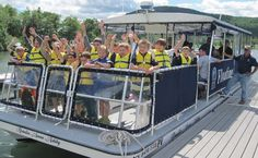 #LakeGeorge, NY- Plan this on a Wednesday, and you can take the kids on the Floating Classroom! The LGA welcomes you aboard the Floating Classroom for an adventure ON Lake George where you can explore a variety of topics and activities that apply to Lake George and its surrounding wetlands.
