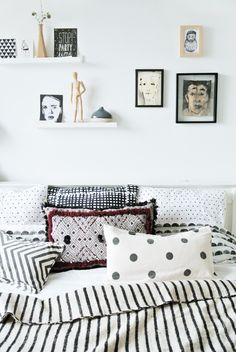 The lovely home of a Dutch designer / blogger