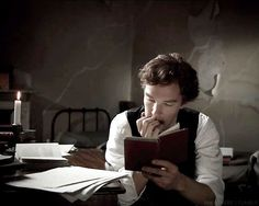 Ben reading a book. That is all. <3