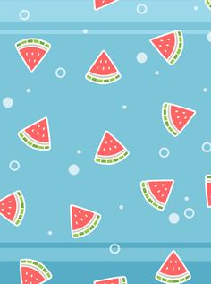 Watermelon Party -wallpaper for iPad by sosogirl123.deviantart.com on @DeviantArt