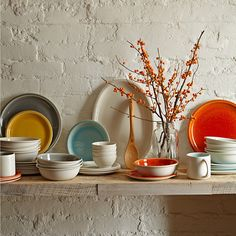 Cantine dinnerware by Jars France from Williams-Sonoma via happymundane.com