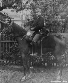 Kavallerist, Wien, um 1900