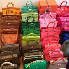 Hermes Bags, Hermes Handbags, Purses And Handbags, Hermes Birkin, Luxury Purses, Luxury Bags, Sac Michael Kors, Mode Blog, Cute Bags