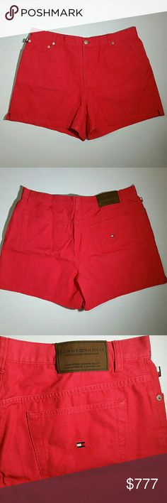 50% on 3+ Tommy Hilfiger 12 Red Shorts Tommy Hilfiger Red Shorts,  Great pre-owned condition. Classic red shorts. (2-22) Tommy Hilfiger Shorts