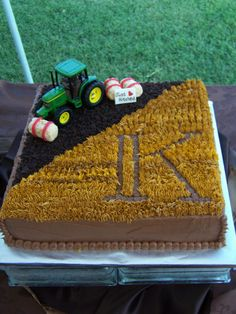 Bailey's Farm/IKoinonia Groom's Cake - Again Perfectly Created by: Julie Purdy