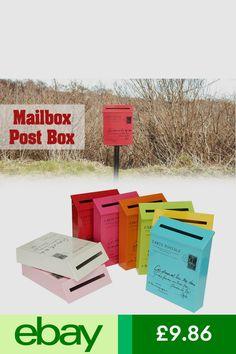 Letterboxes Home Furniture DIY Ebay