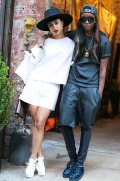 Two monochrome looks SLAYED!, See if you can cop a pair o... by Neil Alvin