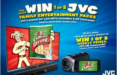 Frigo Cheese Heads Smile With String Cheese Sweepstakes – Win a JVC Home Entertainment System!