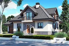 Flat House Design, House Outside Design, Simple House Design, Dream Home Design, Modern Bungalow House, American Houses, Minimalist Home, Home Fashion, My House