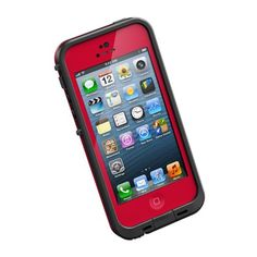 LifeProof fre Series Case for iPhone 5 - Retail Packaging - Red