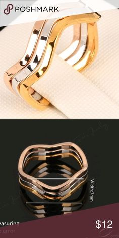 A New Alloy Stack Ring A New Alloy Stack Ring Jewelry Rings