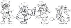 Willy Wombat el papá de Crash Bandicoot