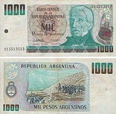 1000 pesos argentinos