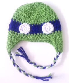 newborn ninja turtle hat (purple) $15