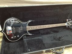 Gene Simmons Signed and Numbered Punisher Bass.