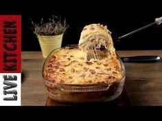 Το πιο Νόστιμο Σουφλέ EVER (Σουφλέ με Αλλαντικά & Πατάτα - How to Make a Cheese Soufflé Live Kitchen - YouTube