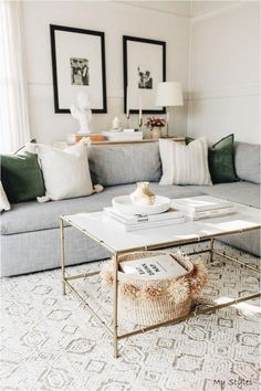 Cozy Living Rooms, Home Living Room, Rugs In Living Room, Living Room Designs, Living Room Furniture, Modern Living Room Decor, Neutral Living Rooms, Living Room Apartment, Modern Furniture