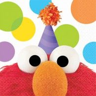 Elmo Party Sesame Street Beverage Napkins are fun and colorful napkins that will make any table pop with clor. Match to other Elmo themed party supplies. Elmo Party Supplies, Sesame Street Party Supplies, Elmo Birthday, 2nd Birthday Parties, Birthday Ideas, Birthday Celebration, Happy Birthday, Sesame Street Birthday, Party Napkins
