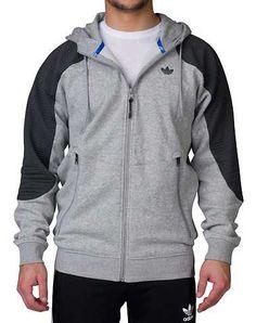 #FashionVault #adidas #Men #Tops - Check this : adidas MENS Grey Clothing / Sweatshirts L for $34.99 USD