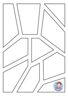 Glas in lood raam kasteel, kleuteridee, thema ridders, knight theme kindergarten Art For Kids, Crafts For Kids, Magic Treehouse, 17th Century Art, Sea Monsters, High Five, Luxor Egypt, British Library, British Museum