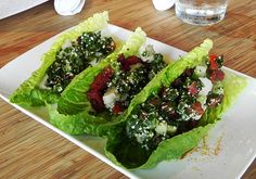 raw food wraps. more of matthew kenney's genius inventions.