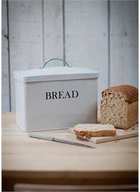 Perfectly sized, with a curved shape, a convenient lift-off lid our Bread Bin in Clay is designed to keep your worktops crumb-free.