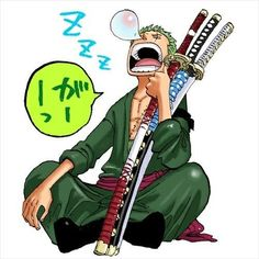 No matter what happens zoro is bae