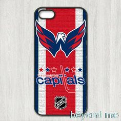 NHL Washington Capitals Cover case for iphone 4 4s 5 5s 5c 6 6s plus samsung galaxy S3 S4 mini S5 S6 Note 2 3 4   z0440