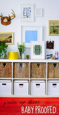 Tips for balancing baby proofing with polished home decor.