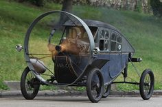 Steampunk vehicle