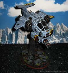 Space Wolves Stormtalon by Arastoru.deviantart.com on @deviantART