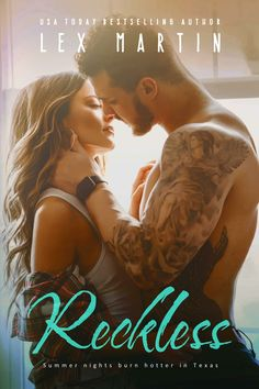Title: Reckless Author: Lex Martin Genre: Adult Contemporary Romance Release Date: February 2018 Bl. Best Seller Libros, Contemporary Romance Novels, Modern Romance, Romantic Movies, Love Book, My Books, Wattpad, Reading, Photos
