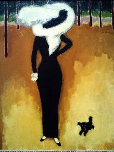 Kees Van Dongen, The Parisian Lady, 1910