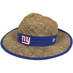 New York Giants Straw Hat