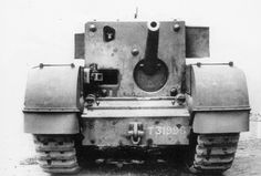 """Churchill Gun Carrier - In September 1941, the General Staff asked the Tank Board to investigate the possiblility of producing cruiser and infantry tanks mounting large calibre high velocity guns specifically for engaging the largest German tanks. To fulfil the cruiser tank requirement the Challenger was subsequently developed with the 17pdr gun. FOr the infantry tank requirement it was proposed to fit a 3"""" AA gun in a limited traverse mount on a Churchill chassis."""