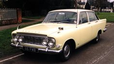1963 Ford Zodiac Mk III. As with the Zephyr, huge fins and an adornment of chrome