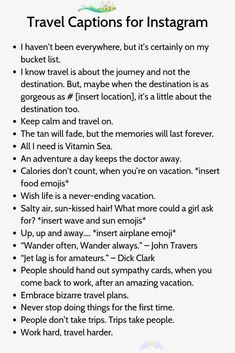 Travel Captions for Instagram1<br> Cool Instagram, Good Quotes For Instagram, Instagram Captions For Selfies, Selfie Captions, Caption For Nature, Attitude Caption For Instagram, Travel Captions, Caption Quotes, Humor