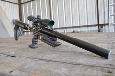 A Crosman 2250 CO2 air gun totally modded with parts by Crosmods